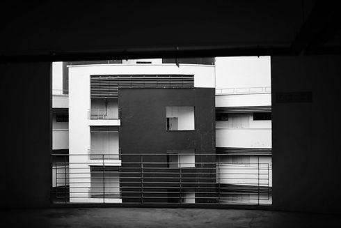 Architettura in bianco e nero