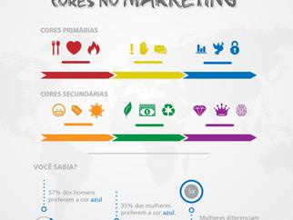 O Efeito das cores no Marketing