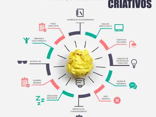 12 maneiras de se manter sempre criativo. A 7 é para poucos!