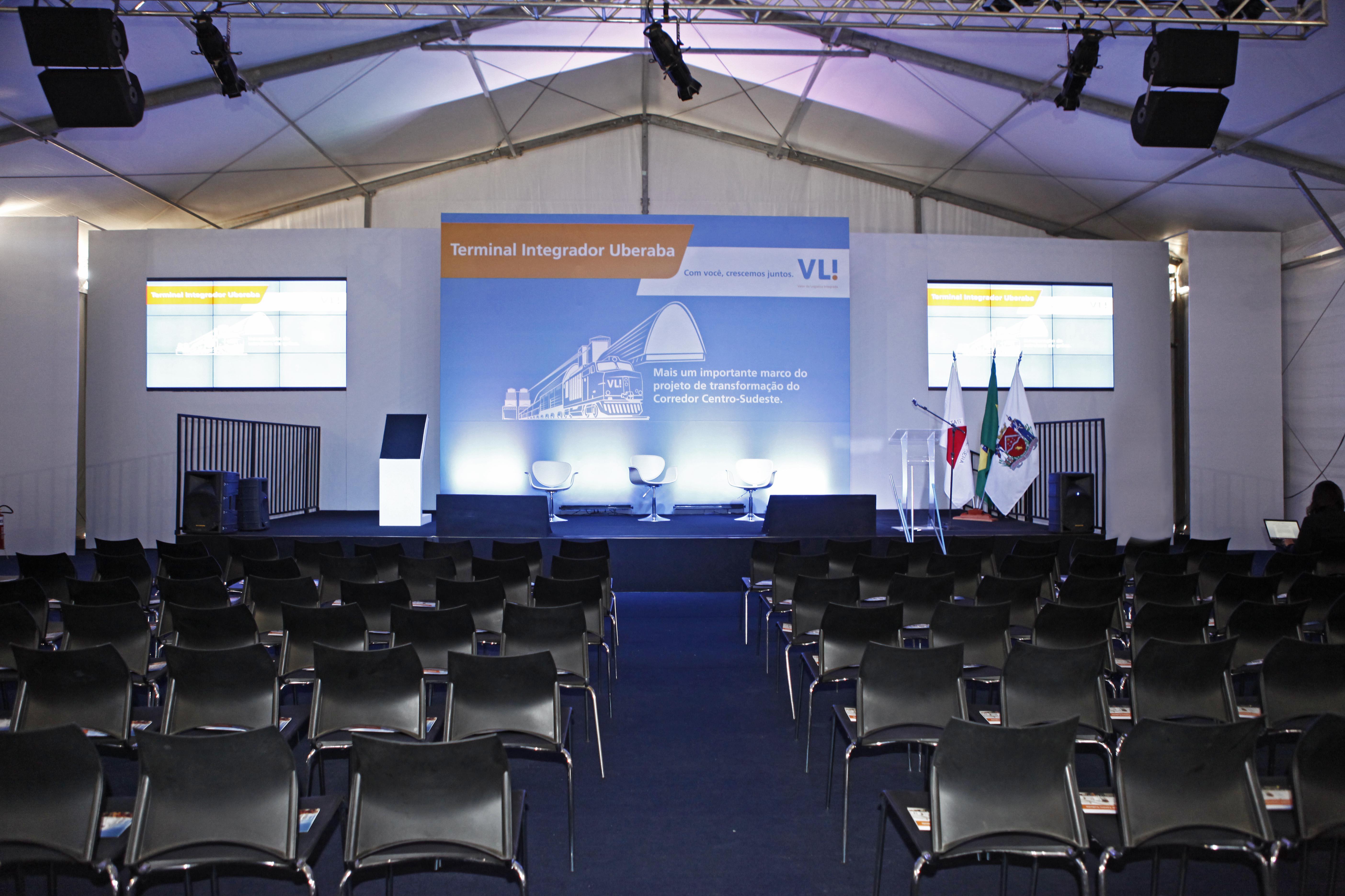 Inauguração de Terminal VLI