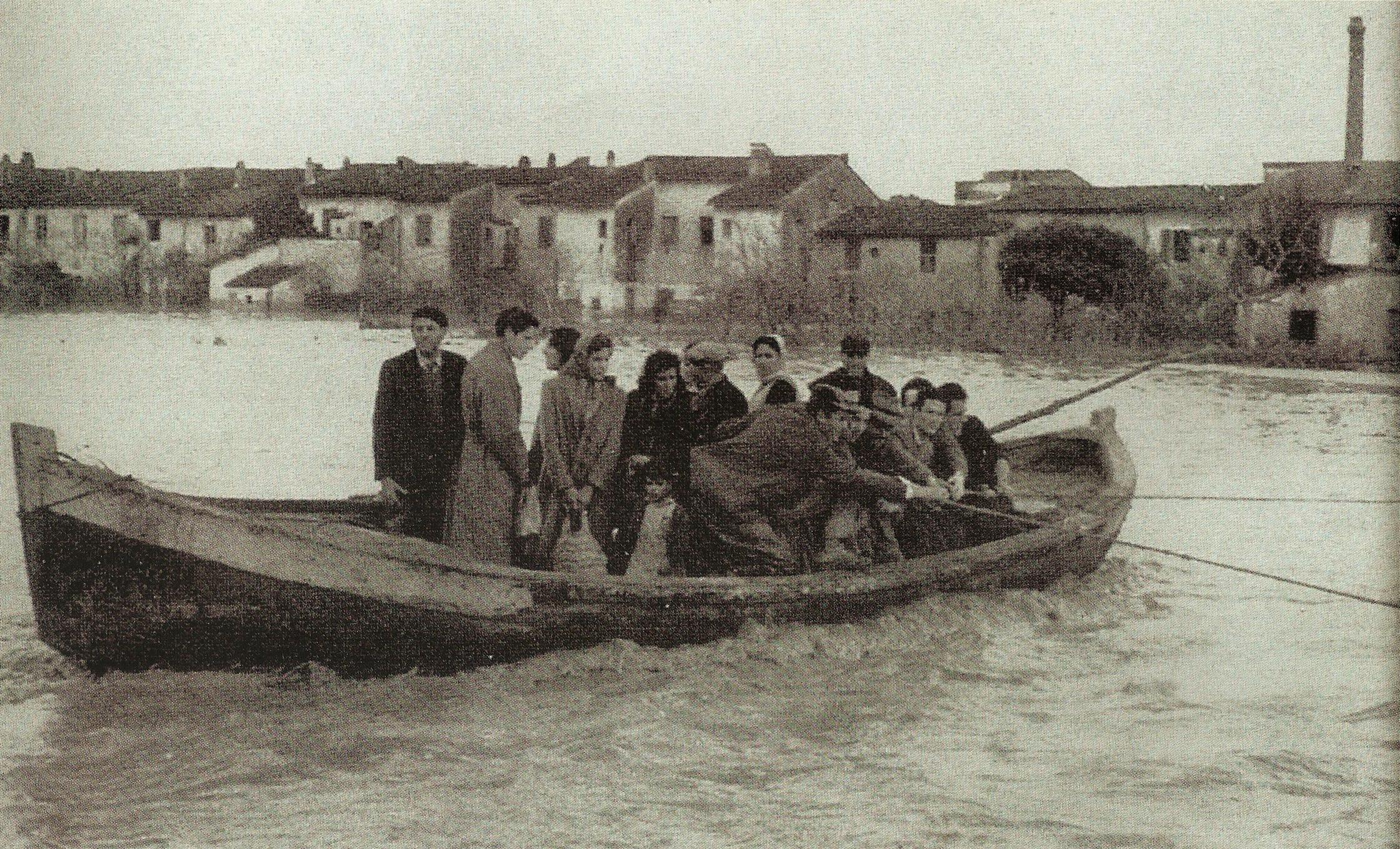 Pisani in fuga da San Michele degli Scalzi