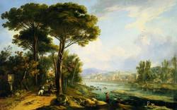 Veduta dell'Arno dalle Cascine