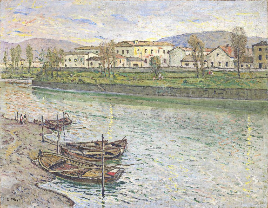 Ore stanche sull'Arno