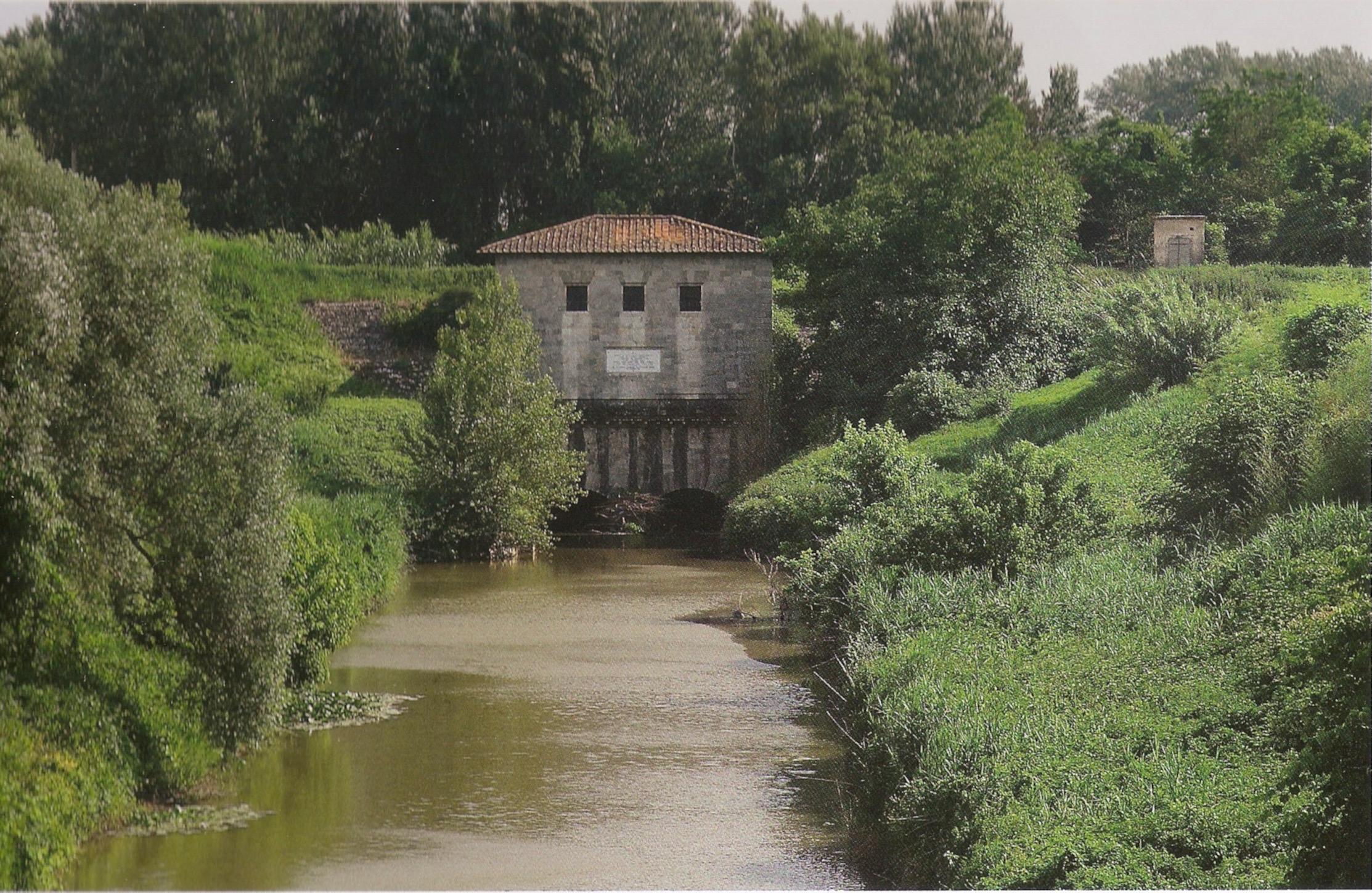 San Giovanni alla Vena, l'ingresso alla botte sotto l'Arno