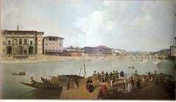L'Arno durante il carnevale