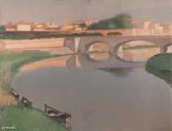 L'Arno a Porta alle Piagge