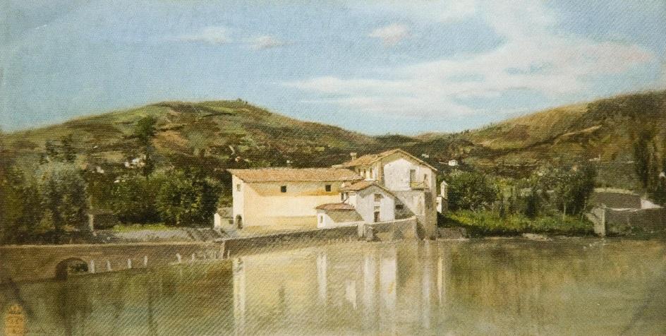 Veduta dell'Arno a Firenze