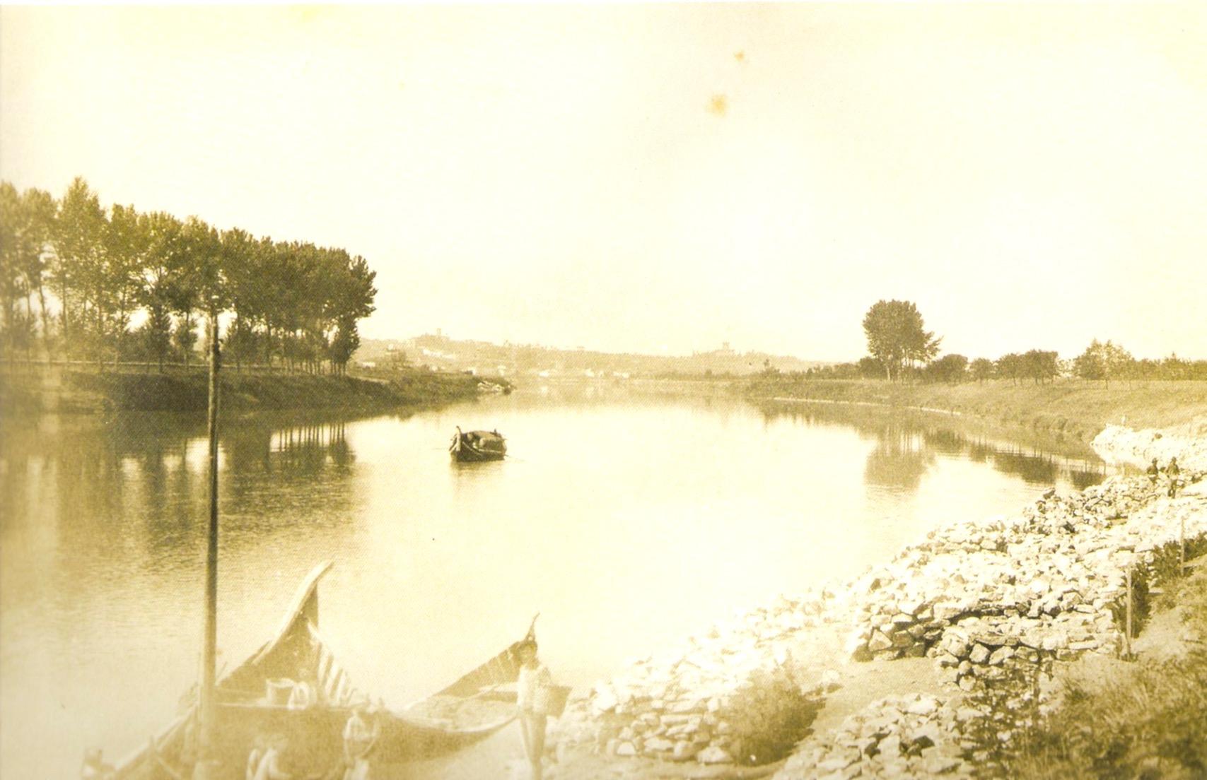 L'Arno presso San Romano 1908