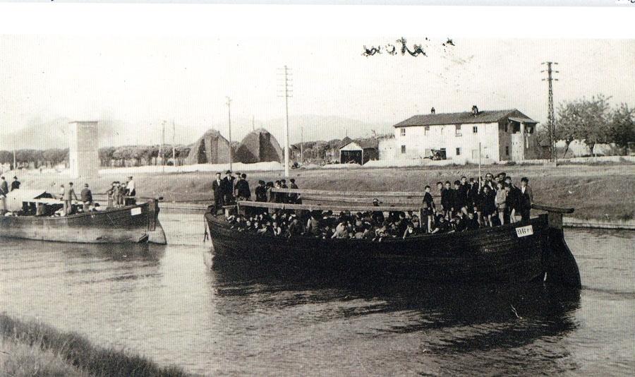 Barche sui Navicelli