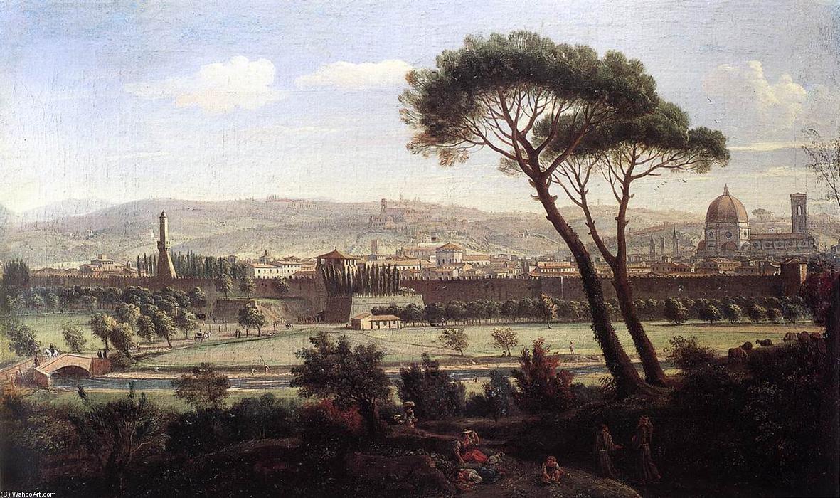 Veduta dalla via Bolognese