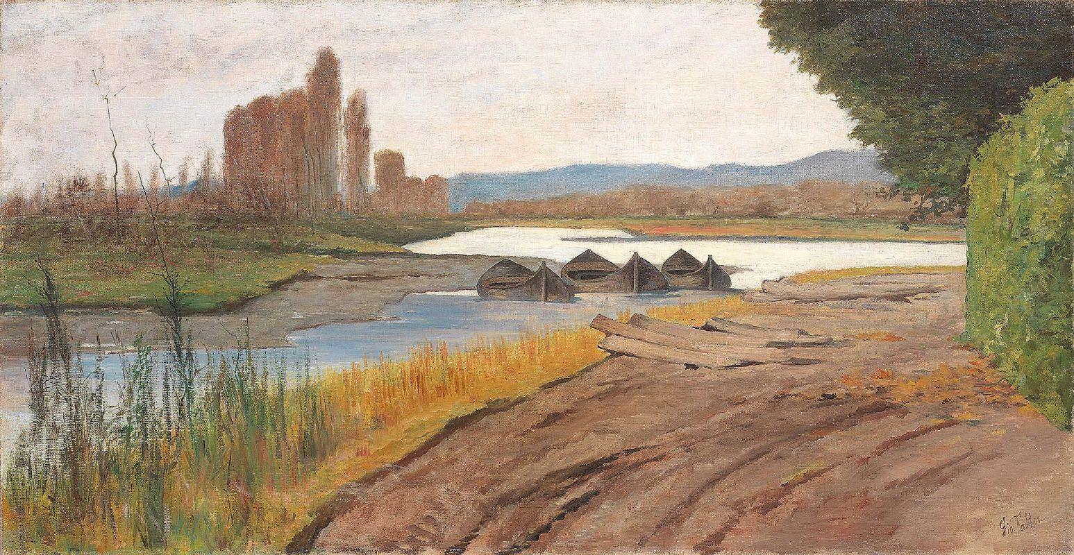 L'Arno alle Cascine