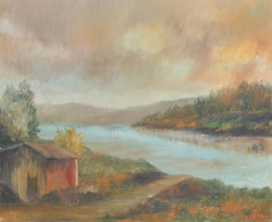 Baracca vicino l'Arno