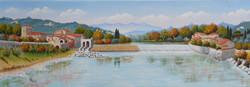 Molino Giachi sull'Arno