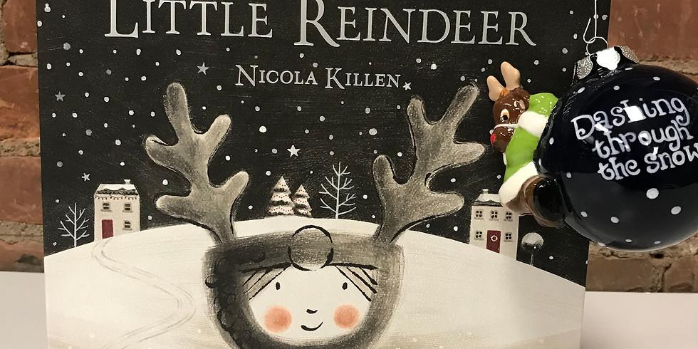 Brushes & Books - The Little Reindeer