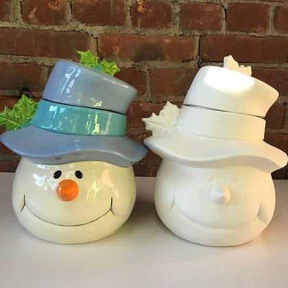 Frosty Cookie Jar