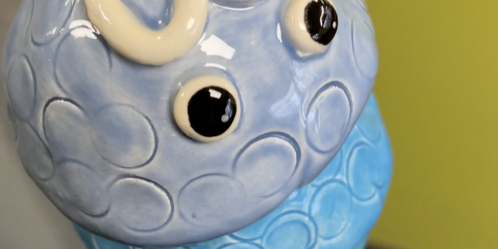 Play with Clay - Swinging Fish Chime