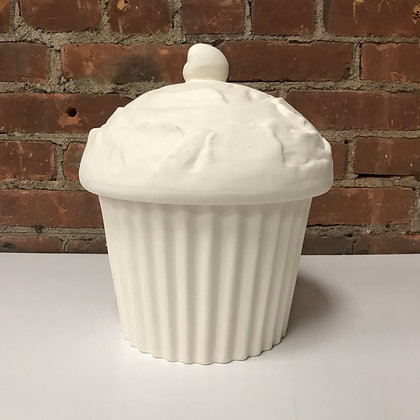 Cup Cake Cookie Jar