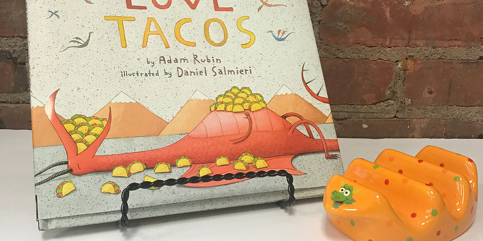 Brushes & Books   Dragons Love Tacos