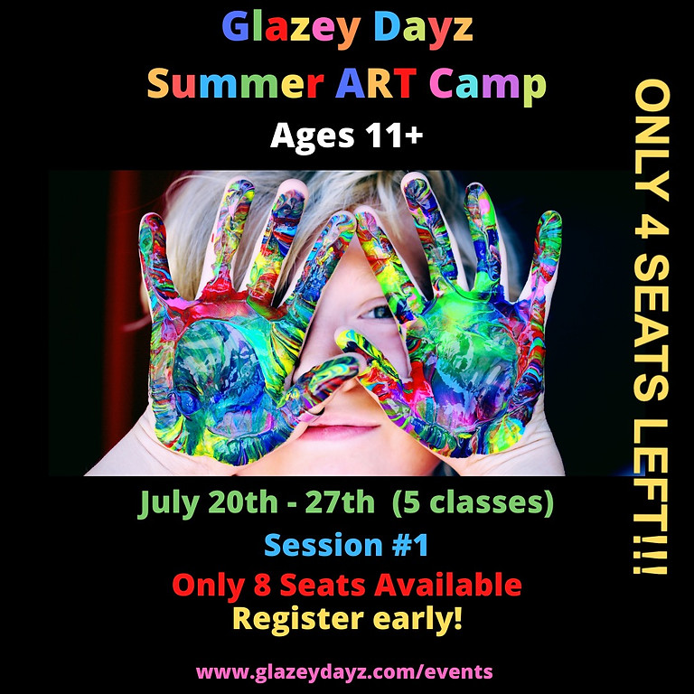 Summer Classes Ages 11+  (5 Sessions Start 7/20)