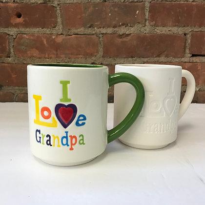 I Love Grandpa Mug - Kit