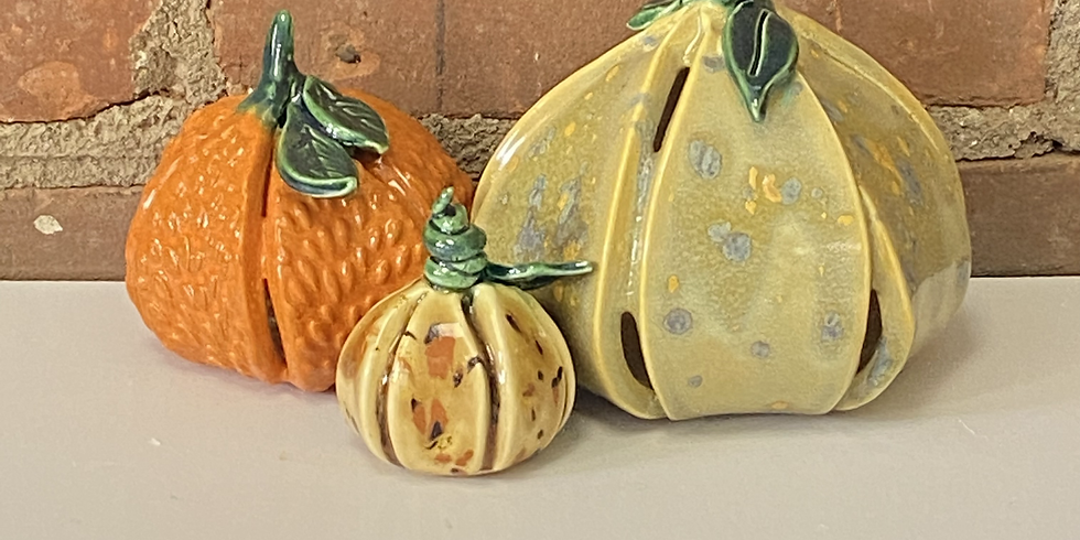 Play with Clay - Pumpkins