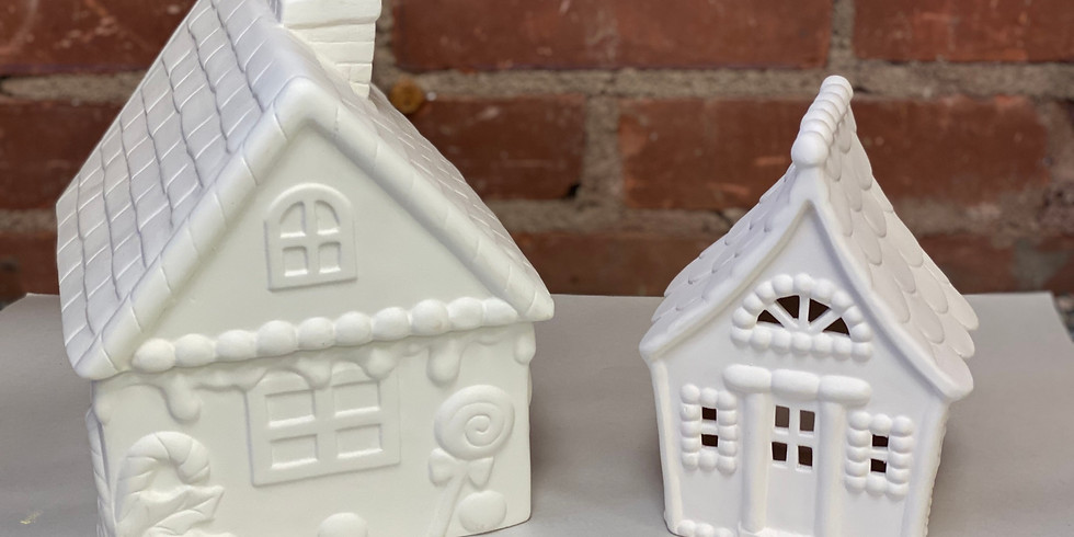 Mommy & Me Gingerbread Houses