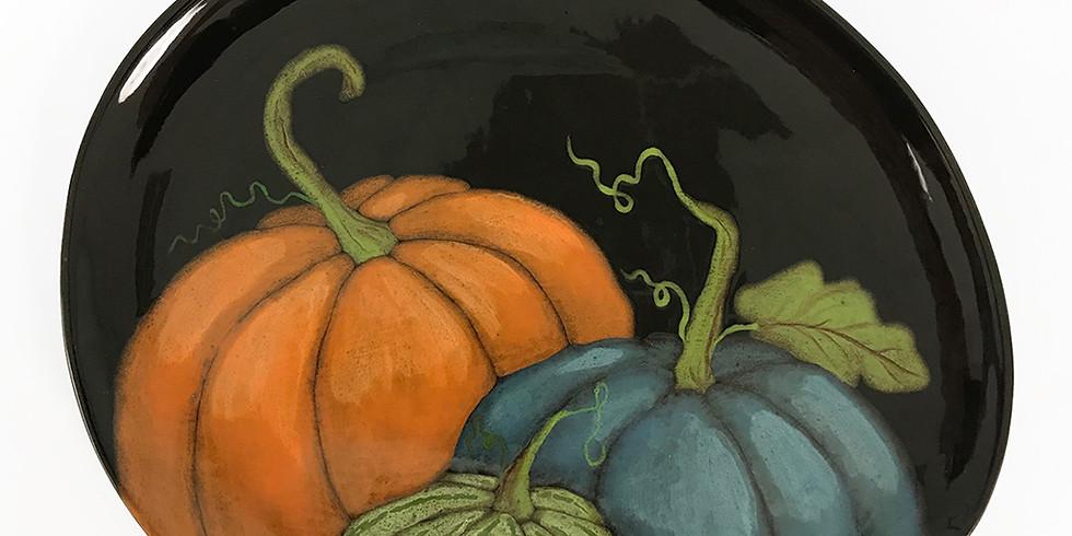 Pumpkin Charcuterie Plate
