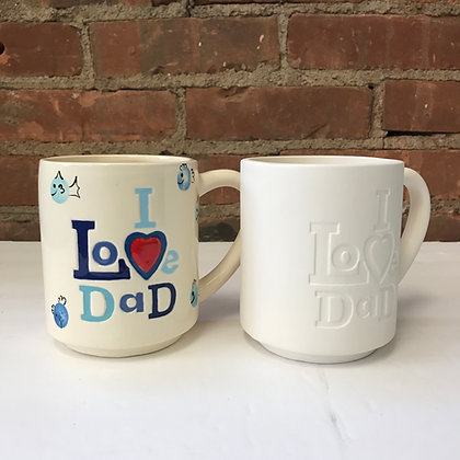 I Love Dad Mug - Kit