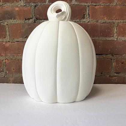 Large Modern Pumpkin
