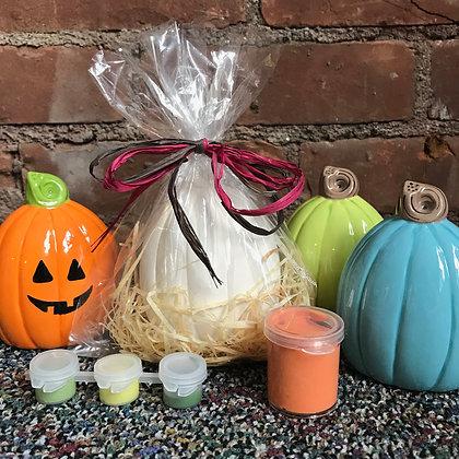 Pumpkin Trio (Set of Three) - Kit