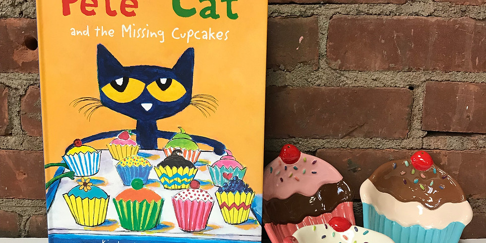Brushes & Books - Pete the Cat & the Missing Cupcakes