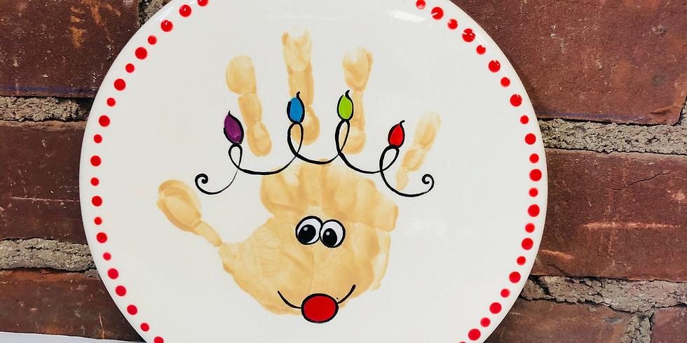 Child's Handprint Trivet