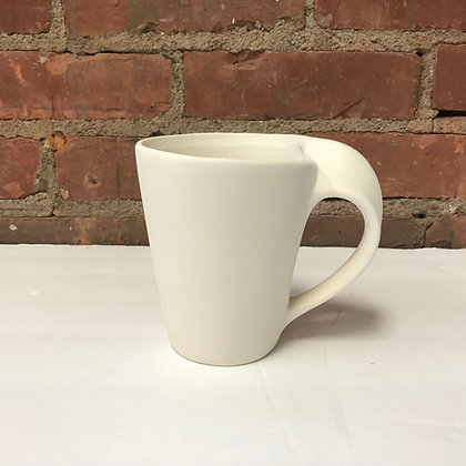 Swoopy Handle Mug