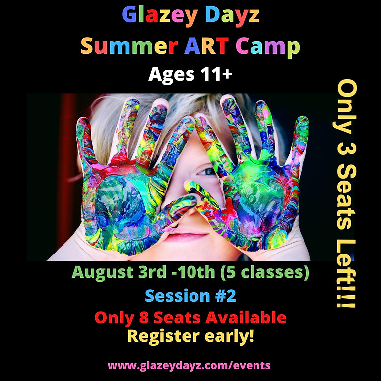 Summer Classes Ages 11+  (5 Sessions Start 8/3)