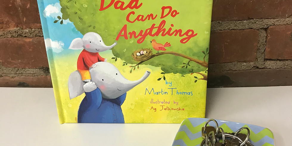 Brushes & Books - Dad can do Anything!