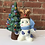 Thumbnail: Lighted Snowman and Tree