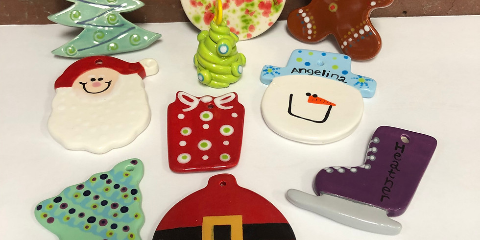 Play with Clay XMAS Ornaments