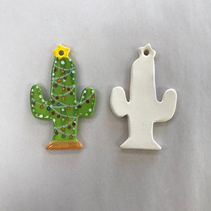 XMAS Ornament - Cactus