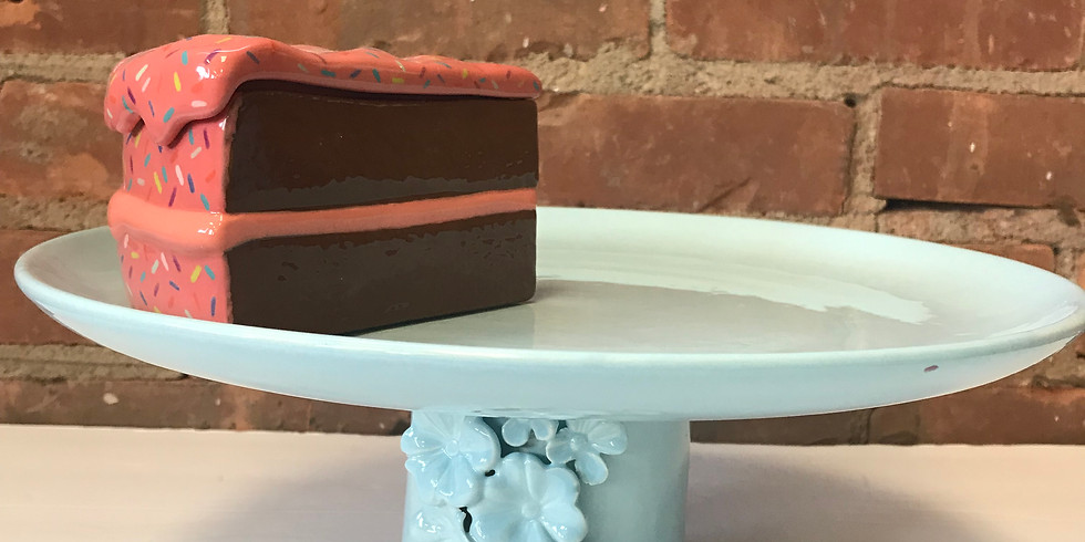 Play with Clay - Cake Stand