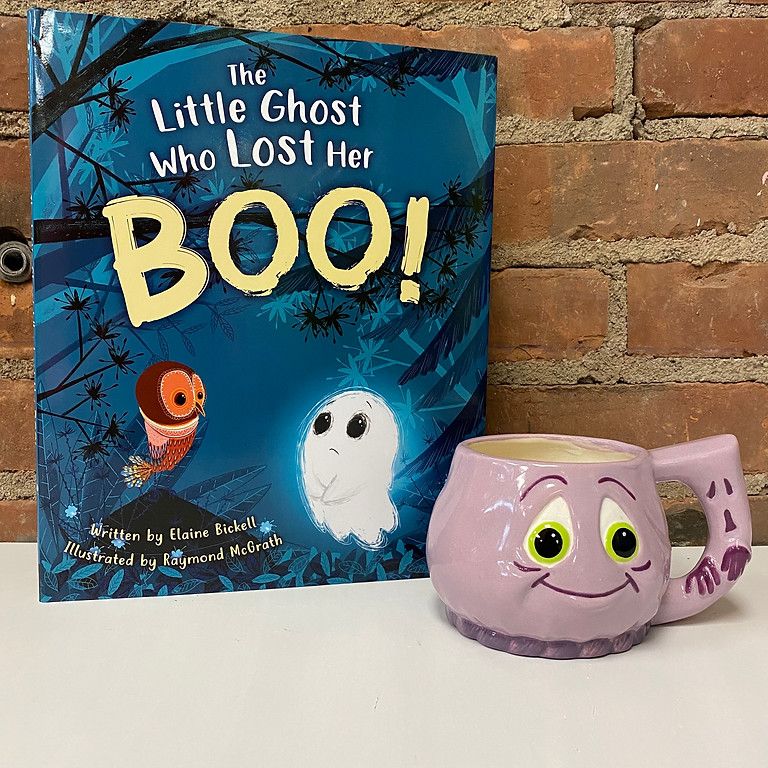 Brushes & Books - The Little Ghost
