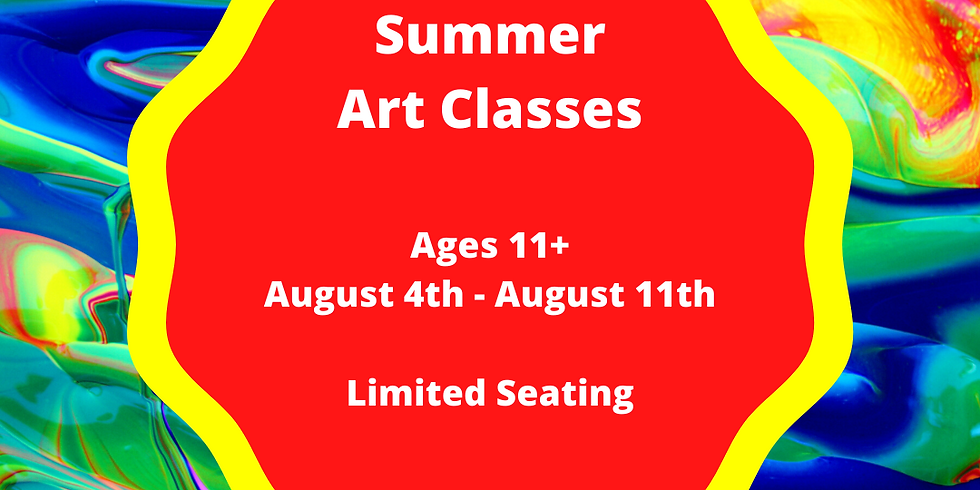 Summer Classes Ages 11+ (5 Sessions Start 8/4)