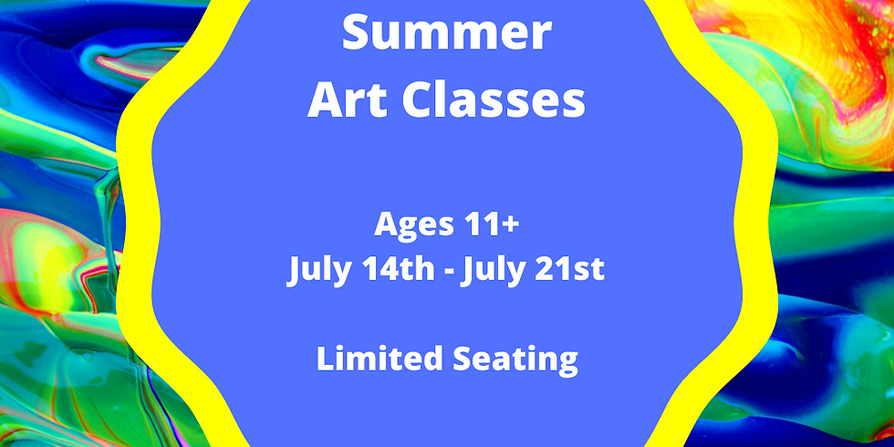 Summer Classes Ages 11+  (5 Sessions Start 7/14)