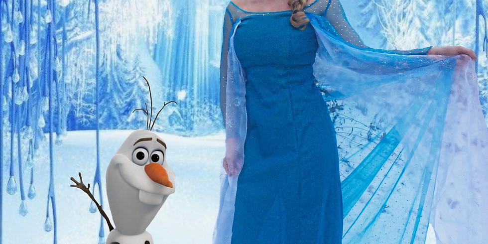 A Frozen Princess Party