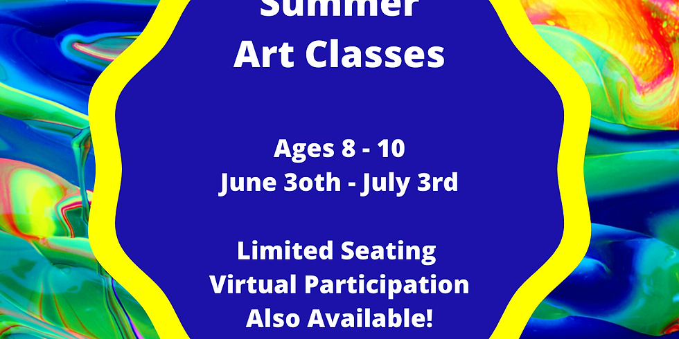 Summer Classes Ages 8-10 (4 Sessions Start 6/30)