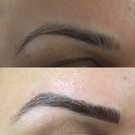 Microblading eyebrows in ottawa