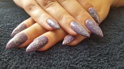 Gel Sculpture nails