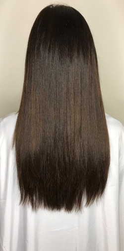 After Tape in Extensions Completed M