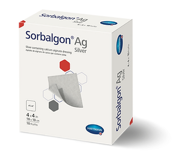 Sorbalgon® Plus Ag Calcium Alginate Dressing