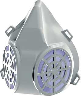 The PRO+TM Dual Respirator Mask with Zen