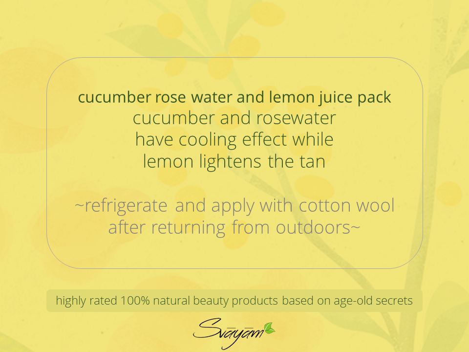 svayam natural handcrafted skin care products